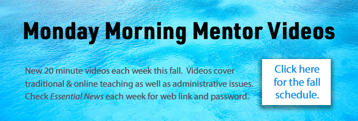 Monday Morning Mentors Fall 2019