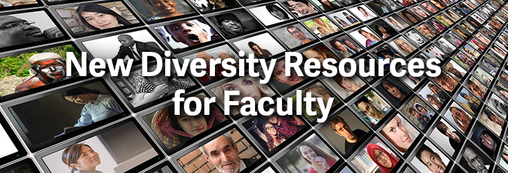 New Diversity Resources banner