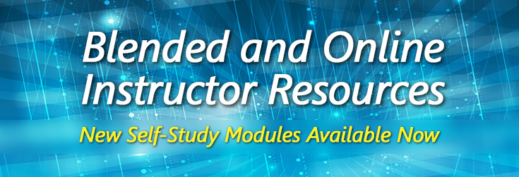 Blended and Online Instructor Resources Available